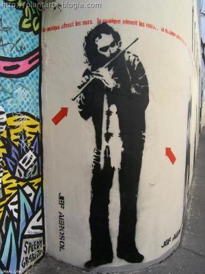 El arte que amansa los muros